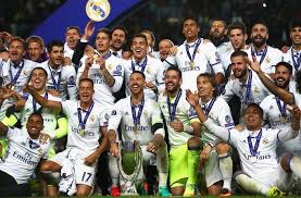 Real Madrid won the 2017 UEFA super cup football tournament