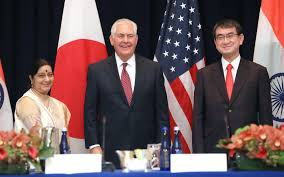 India Japan US Trilateral Foreign Ministerial Meeting held in New York