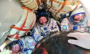 Nasa record breaker back on Earth after logging 665 days in space