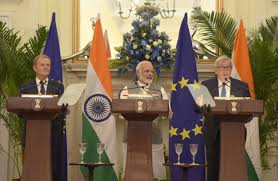 Three agreements signed during 14th India-EU Summit in New Delhi