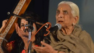 Girija Devi to get posthumous Lifetime Achievement award