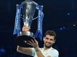 Grigor Dimitrov beats David Goffin to win the singles title of 2017 Nitto ATP Finals (tennis)