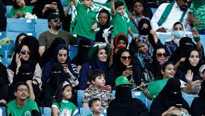 Saudi to allow women into sports stadiums from 2018