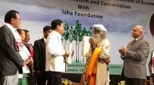 Assam Signs MoU with Isha Foundation to Save Rivers