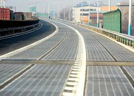 China successfully tested its first Photovoltaic road
