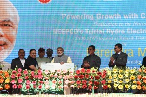 PM Dedicates Tuirial Hydropower Project to the Nationq