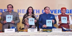 Union health minister J P Nadda launches new initiatives on Universal Health Coverage Day