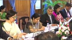 Sushma Swaraj 3 Nation Visit: Co-Chairs Meeting of India-Indonesia Joint Commission