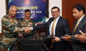 MoU between Indian Army and HDFC Bank