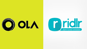 Ola Acquires Ticketing App Firm Ridlr