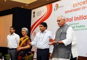 Suresh Prabhu Launches Digital Initiative for Ease of Export