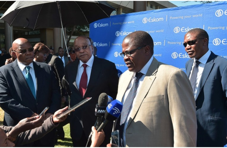 Brian Molefe admits visiting Gupta residence in heated exchange with Madonsela