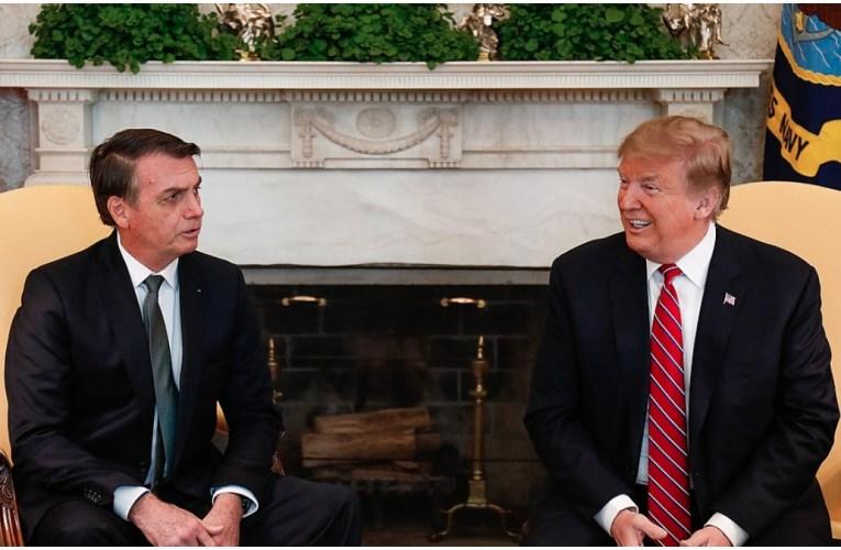 Brazil's President Bolsonaro 'tests positive for coronavirus' days after meeting Trump