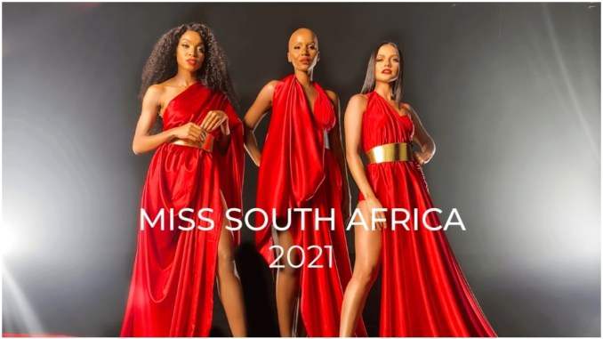 Miss South Africa 2021 application requirements