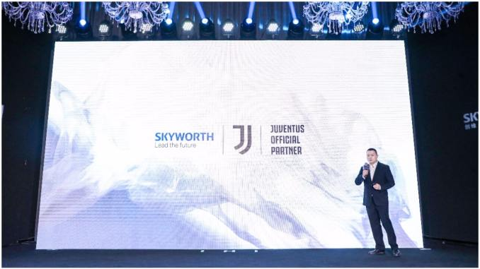 SKYWORTH Juventus official partner