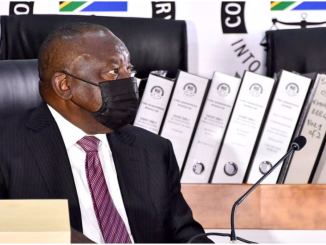 Cyril Ramaphosa at state capture commission