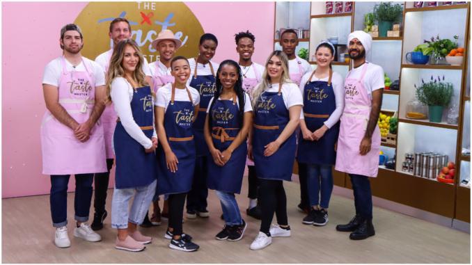 Taste Master SA Baking Edition contestants