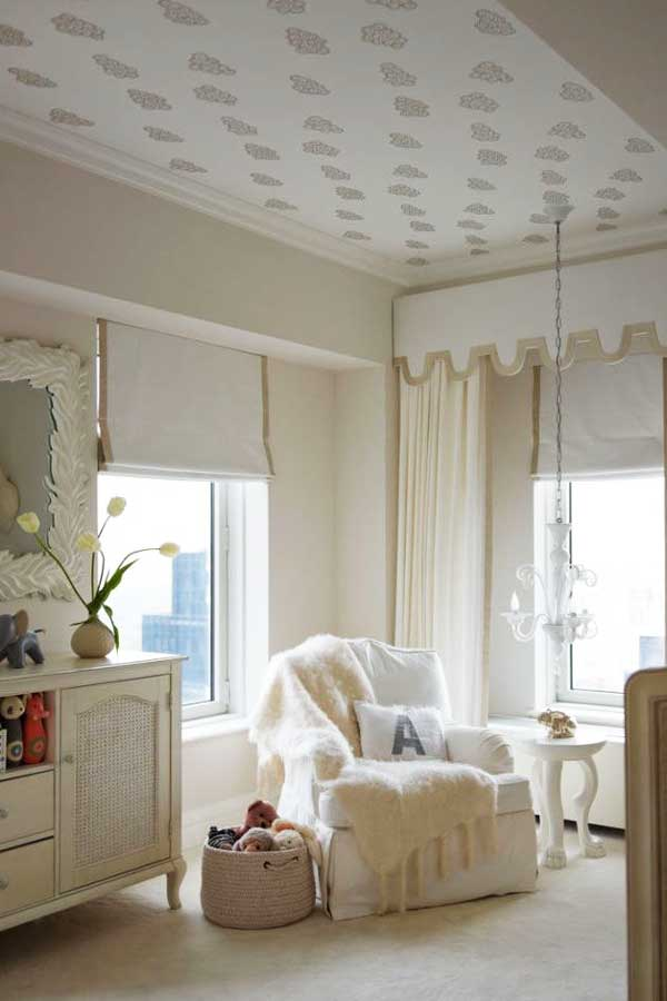 Ceiling room design Neutral Accent