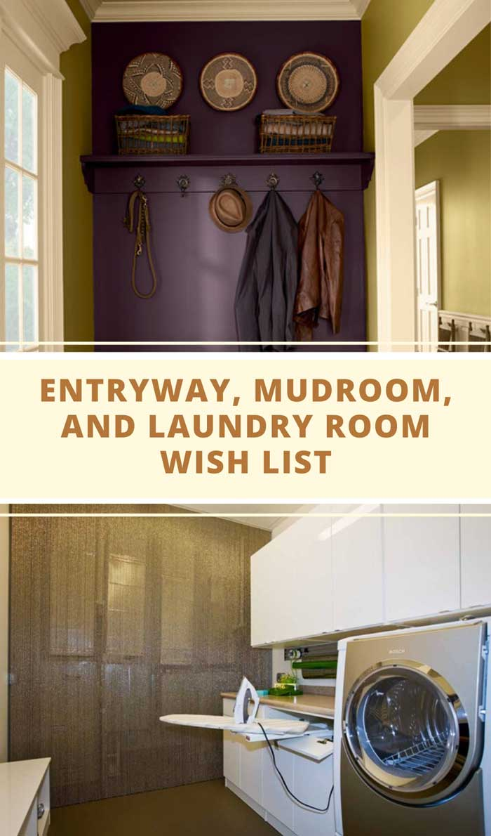 Entryway, Mudroom and Laundry Room