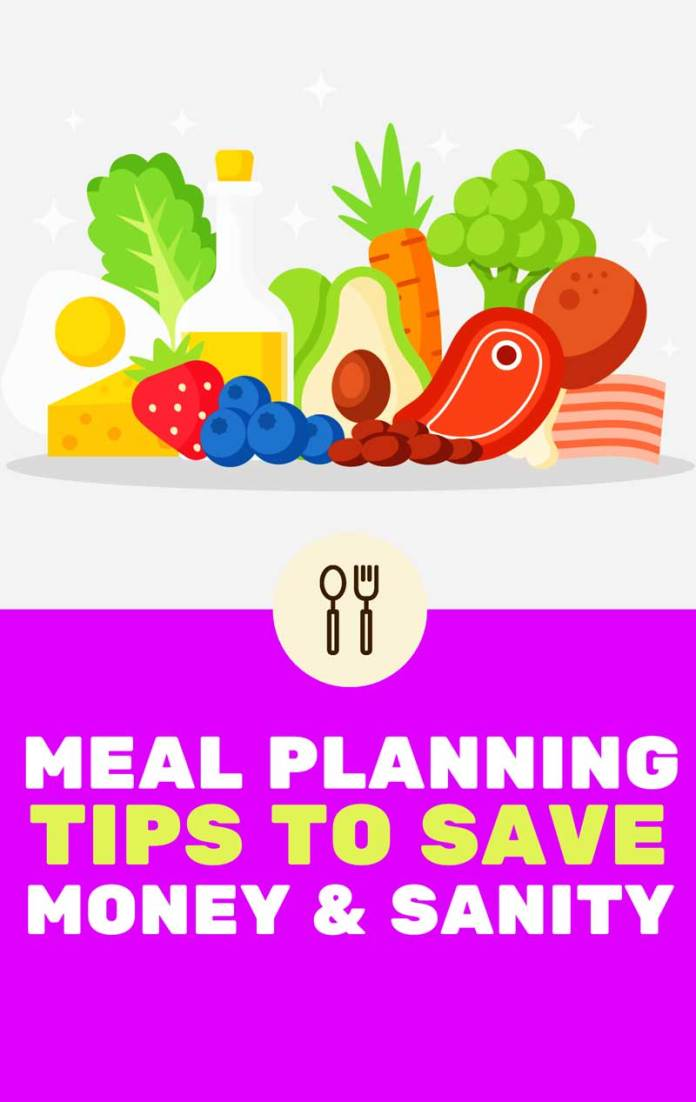 SIMPLE FAMILY MEAL PLANNING TIPS TO SAVE MONEY – MEAL PLANNER TEMPLATES Last Updated on January 1, 2020 by Jane 2 Comments Sharing is caring! Share Tweet Pin Save thousands every year with these easy-to-implement family meal planning tips! Did you ever have times in your life when you overspend at the grocery, only to end up not having something to eat later that week? And then you consider take out, which is more expensive and unhealthier, and then beat yourself up for not serving healthier dishes for your family? Sounds familiar? I was there once, too! Fortunately, there is a way around it and it's super easy and effective: meal planning. I've been meal planning for quite some time now and this is, hands-down, my most favorite tip on how to save money on food. This weekly routine has been instrumental in helping us cut our grocery bill in half, from over $600 per month to $300, and at the same time in eating healthy. WHAT IS MEAL PLANNING? Most of us plan for essential things in our lives with such dedication, whether it's your dream wedding or the ultimate family vacation. But do you plan for everyday events like cooking and dining? Meal planning is not as grand as picking the menu for your wedding, but it's an important aspect in life that allows you to feed your family with nutritious and delicious food while allowing you to save time and money. Think of meal planning this way: you sit down on the table one night, pen and paper in hand, and then you try to figure out what to feed your family for the rest of the week. When you go to the stores, you know exactly which ingredients to buy, and you're sure you'll use every single one of them. Welcome to This Mama Blogs Play Video The main goal of meal planning is to reduce your stress and take the guesswork out of your meals. When you know what to prepare and cook, you become less overwhelmed and more focused. And if you've always hated spending time in the kitchen because of the sheer amount of work you seem to have to do, then meal planning could make cooking more enjoyable for you as well. HOW TO PLAN YOUR MEALS EFFECTIVELY You don't need a complicated, elaborate strategy to pull off an effective meal plan. However, there are golden rules that you should live by to ensure that meal planning truly serves its purpose. 1. CONSIDER WHAT YOUR FAMILY LIKES . Yes, you'd like good quality meals that are high in nutrition, but we have different tastes. It's essential to ask your family members what they want to eat at different days of the week, so they actually look forward to dinnertime. 2. ANTICIPATE NO-COOK DINNERS. There might be times when you come home late from work that you won't have time to prepare a hearty dinner, or when the kids have events that you deem it impractical to cook for just you and your husband. During these nights, you might take comfort knowing that you can throw in a pre-cooked dinner into the microwave or come up with an easy instant pot meal that you don't have to watch often. You'll find relief knowing that dinner's delicious but almost effortless to make. 3. BE FLEXIBLE. You might think that deviating from the meal plan is counter-intuitive from having one in the first place, but you have to forgive yourself sometimes. If you planned to have roast chicken for dinner but forgot to thaw chicken in the morning, then you have to cook something else. You can have the roast chicken the next night. Meal planning doesn't mean your dishes are set in stone; feel free to deviate when the situation calls for it. PRO TIPS! USE IBOTTA TO SAVE MORE MONEY ON FOOD! Earn cash back on items you regularly buy at the grocery store, such as milk, bread, vegetables, fruits, meats, toilet paper, toothpaste, medicine or yogurt. Make extra $0.25 for each grocery receipt you scan through the app! Yes, it's that simple and there's no need to link a credit card to start using it. It works like couponing but more convenient! I've been an Ibotta user for over two years now and have earned over $800 in cash back from my weekly grocery purchases and bonuses! Join Ibotta for FREE and you'll also receive a $10 Ibotta Bonus after scanning your first grocery receipts. Join Ibotta INVEST IN HIGH QUALITY CONTAINERS Having high quality food containers at your disposal is essential in keeping your ingredients fresh for days and reducing food waste. I use airtight containers or mason jars for fresh salads, and use Ziplock freezer bags for freezer meals. If you'll be microwaving, freezing or using a dishwasher, make sure that your containers are safe for doing so, too. mason jars SIMPLE FAMILY MEAL PLANNING TIPS TO SAVE MONEY