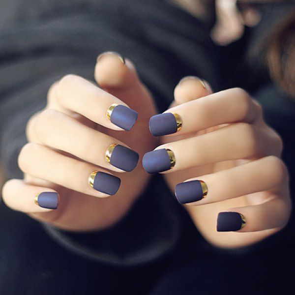 Matte Ivy nails DESIGN IDEAS