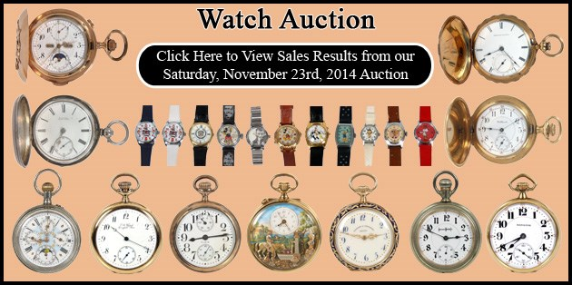 November 23, 2014 - Watch Auction - Prices Realized