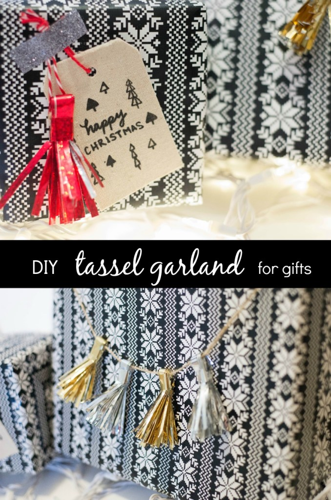 Christmas Traditions + a Cute Tassel DIY