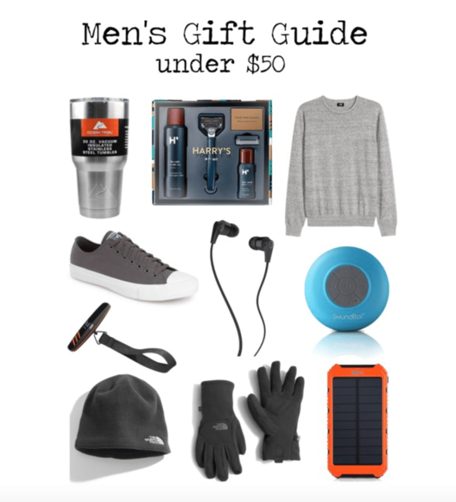 Gift Guide Under $50 | For Him
