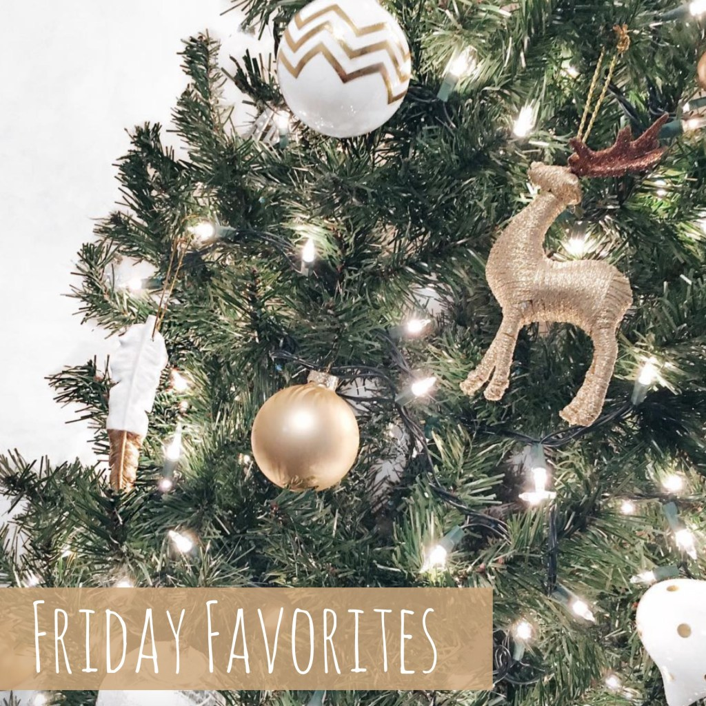 Friday Favorites + a BIG Holiday Giveaway!