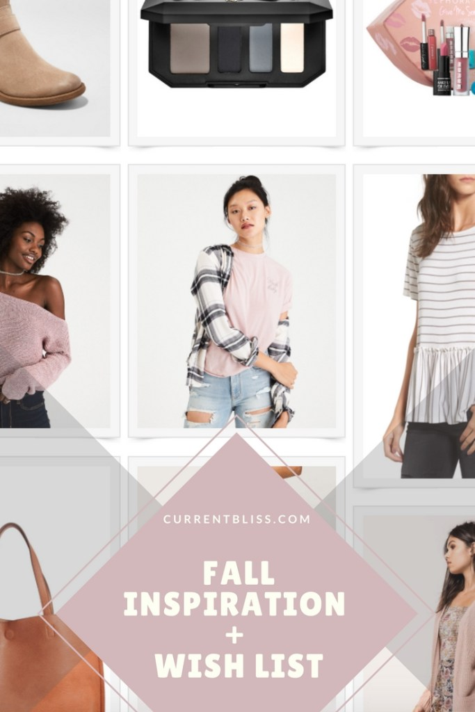 Fall Style Inspo + Wish List