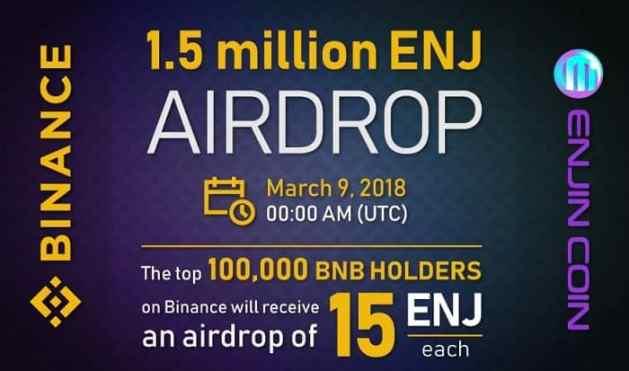 EnjinCoin Airdrop