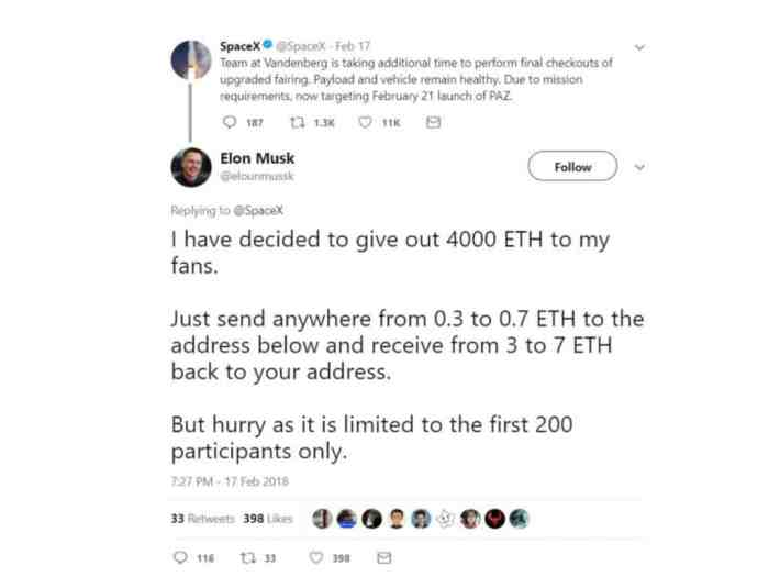 Musk spam bot