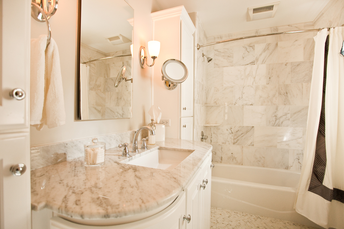 Creating a beautiful bathroom in a small space - Current ... on Nice Bathroom Designs For Small Spaces  id=51250