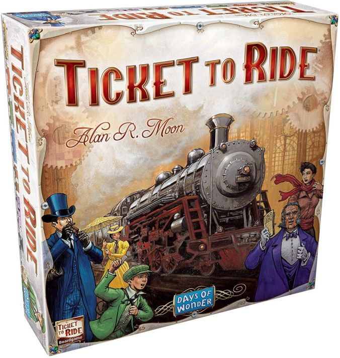 ticket to ride valentines day best board games for couples
