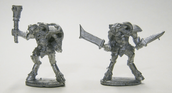 beastmen old metal miniatures minis