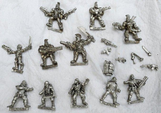 2002 necromunda retrorumnda metal miniatures minis