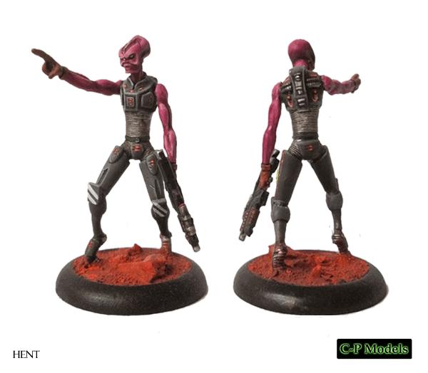 alien mini with gun stargrave
