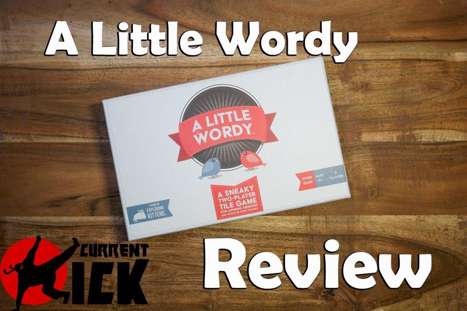 a little wordy review blog written