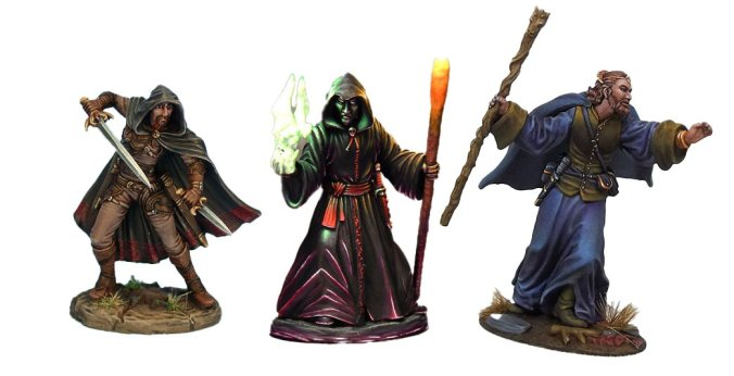 frostgrave painted minis miniatures rangers of shadow deep