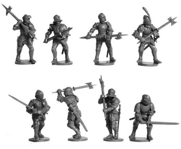 frostgrave knight miniatures perry plastic