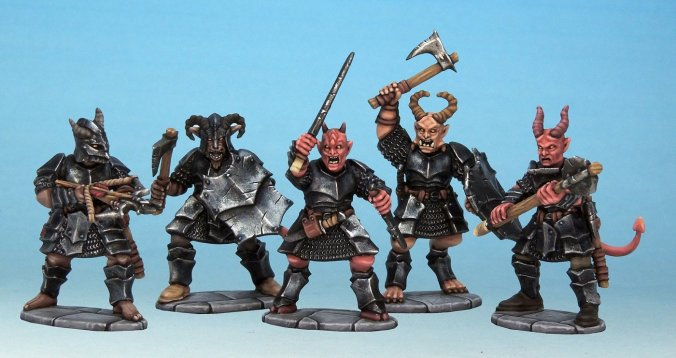 frost grave demon miniatures box set reign in hell
