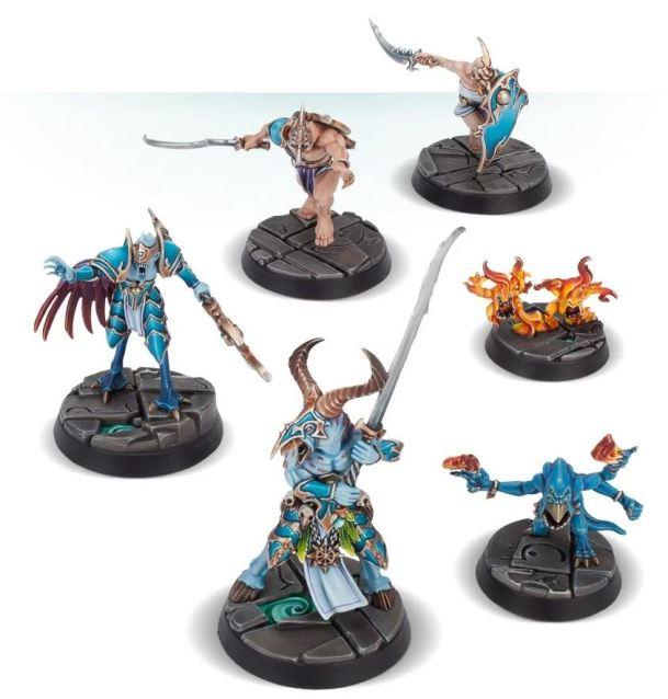 warhammer underworlds demon miniatures reign in hell