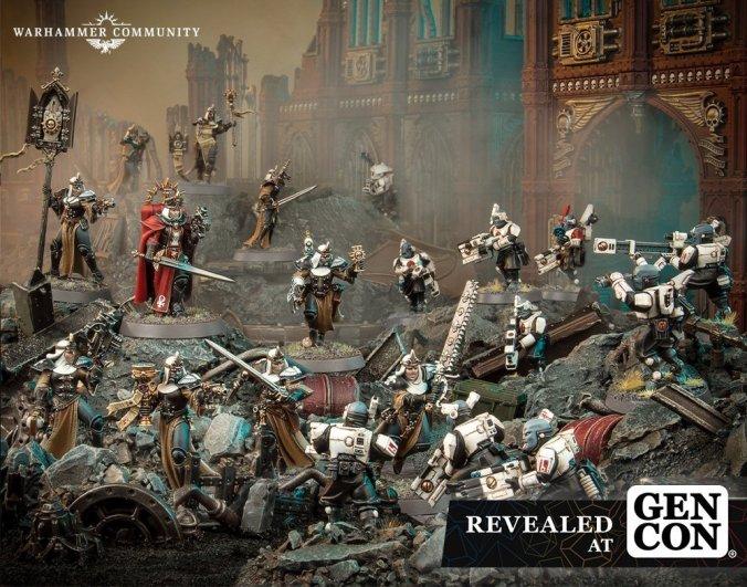 Adepta Sororitas tau pathfinder new gen con kill team starter box set warhammer 40k