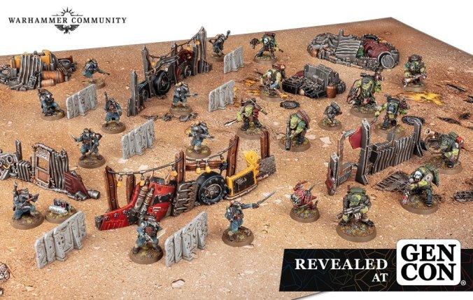 kill team terrain gen con 2021 new starter set box