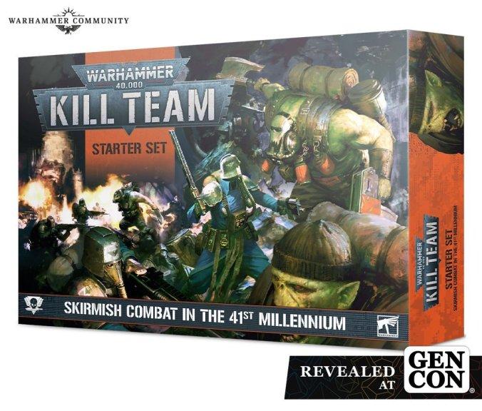 gen con 2021 new kill team starter set box revealed games workshop 40k gw
