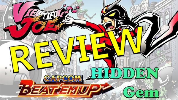 viewtiful joe review ps2 gamecube capcom five 5 video game retro review