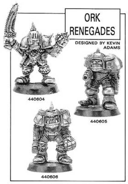ork renegades kevin adams games workshop citadel gw rogue trader