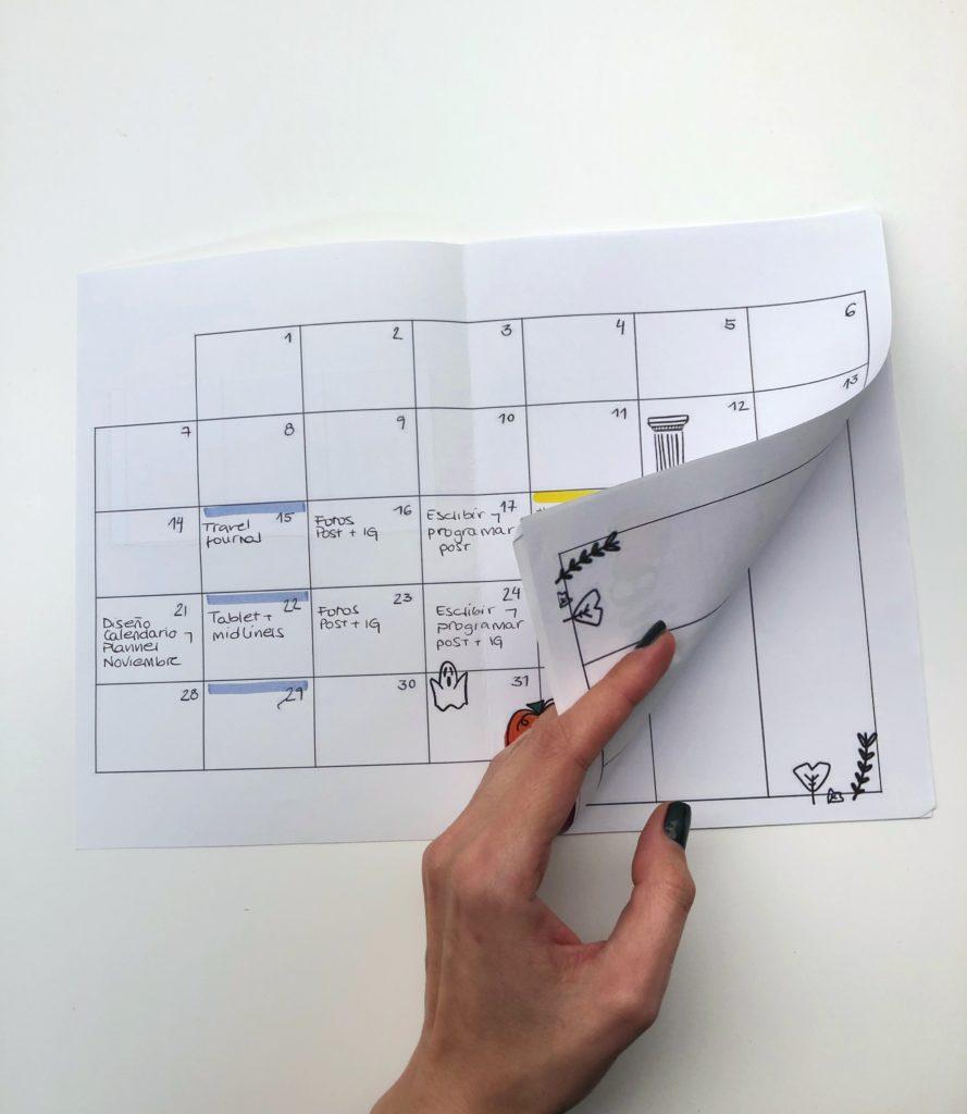 Montando_calendario_DIY