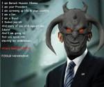 Barack Obama's true identity.