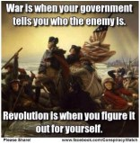 Revolution. Perhaps it's time for a second one.